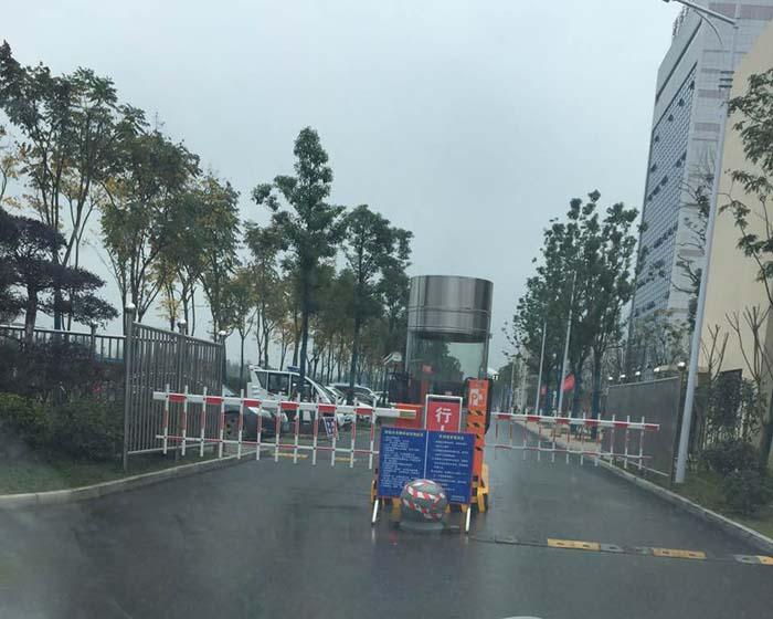 常德技术学院应用停车场系统